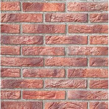 Papírové tapety na zeď Imitations cihla červená