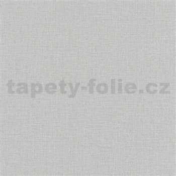 Vliesové tapety na zeď Eyecatcher textilní struktura šedá