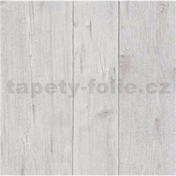 Vliesové tapety na zeď Imitations dřevěné desky šedé
