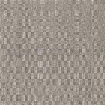 Vliesové tapety na zeď IMPOL Paradisio 2 jednobarevné žíhané tmavě šedé