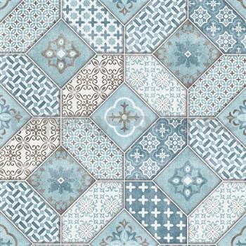 Vliesové tapety na zeď IMPOL Eyecatcher marokánský vzor modrý