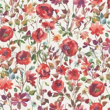 Vliesové tapety na zeď Natural Living vlčí máky červené - POSLEDNÍ KUSY