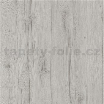 Vliesové tapety na zeď Quiet Nature dřevěné desky šedé