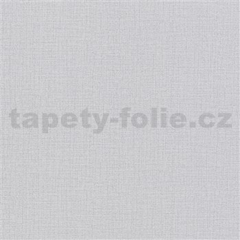 Vliesové tapety na zeď Modern Clasics imitace textilie šedá