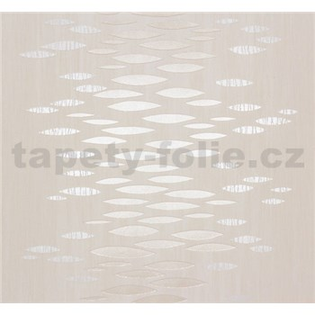Vliesové tapety na zeď Estelle abstrakt metalický zlato-stříbrný