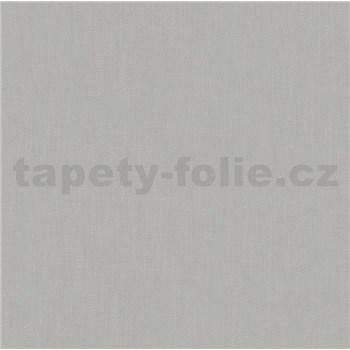 Vliesové tapety na zeď Felicita strukturovaná jednobarevná šedá