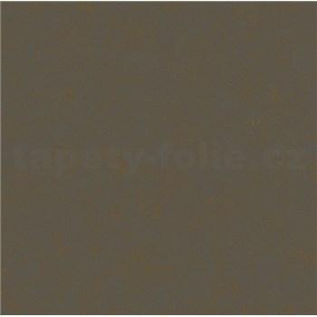 Vliesové tapety na zeď Felicita tmavě hnědé se zlatým metalickým efektem