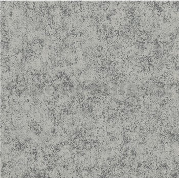 Vliesové tapety na zeď Felicita šedá se stříbrným metalickým efektem
