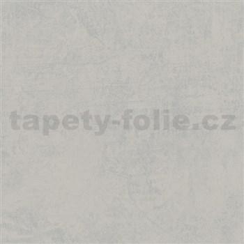 Vliesové tapety na zeď Felicita šedá s broušeným efektem