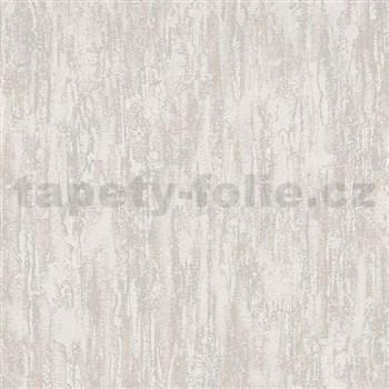 Vliesové tapety na zeď IMPOL Finesse vertikální stěrka světle hnědá