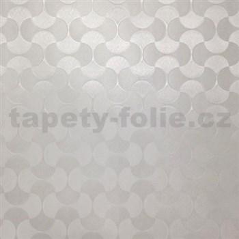 Statická fólie transparentní vzor 67,5 cm x 15 m
