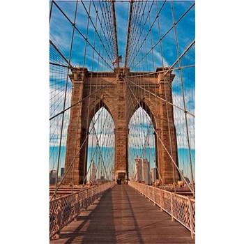 Vliesové fototapety Brooklyn Bridge rozměr 150 cm x 250 cm