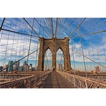 Vliesové fototapety Brooklyn Bridge rozměr 375 cm x 250 cm