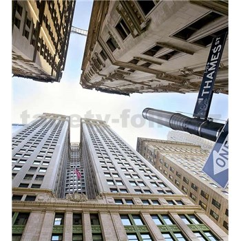 Vliesové fototapety Brodwayský pohled na nebe rozměr 225 cm x 250 cm
