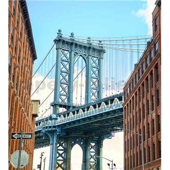 Vliesové fototapety Manhattan Bridge rozměr 225 cm x 250 cm