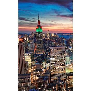 Vliesové fototapety New York mrakodrapy rozměr 150 cm x 250 cm
