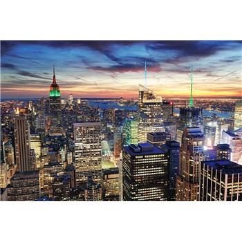 Vliesové fototapety New York mrakodrapy rozměr 375 cm x 250 cm