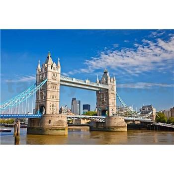 Vliesové fototapety Tower Bridge rozměr 375 cm x 250 cm