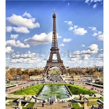Vliesové fototapety Paříž rozměr 225 cm x 250 cm