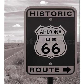 Vliesové fototapety historická cesta rozměr 225 cm x 250 cm