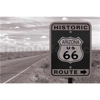 Vliesové fototapety historická cesta rozměr 375 cm x 250 cm