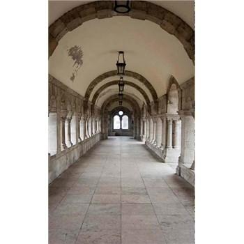 Vliesové fototapety starobylé chodby rozměr 150 cm x 250 cm