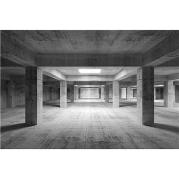 Vliesové fototapety průmyslová hala rozměr 375 cm x 250 cm