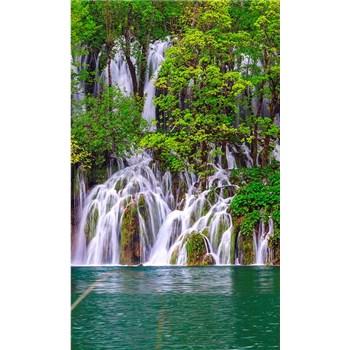 Vliesové fototapety Plitvická jezera rozměr 150 cm x 250 cm