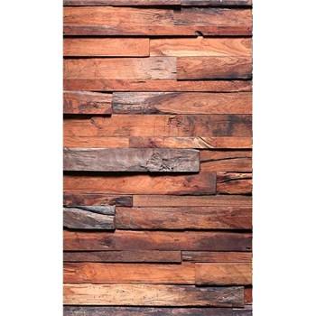 Vliesové fototapety dřevěná stěna rozměr 150 cm x 250 cm