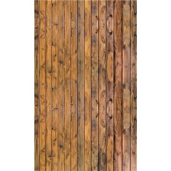Vliesové fototapety stěna z prken rozměr 150 cm x 250 cm