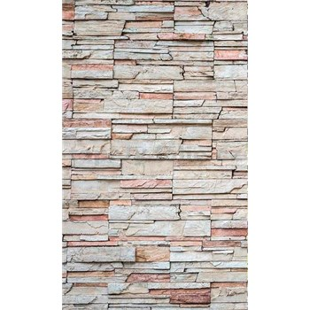 Vliesové fototapety ukládaný kámen rozměr 150 cm x 250 cm