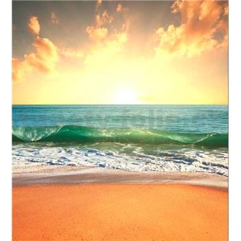 Vliesové fototapety slunce v moři rozměr 225 cm x 250 cm