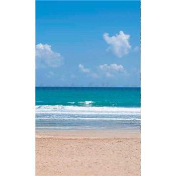 Vliesové fototapety prázdná pláž rozměr 150 cm x 250 cm
