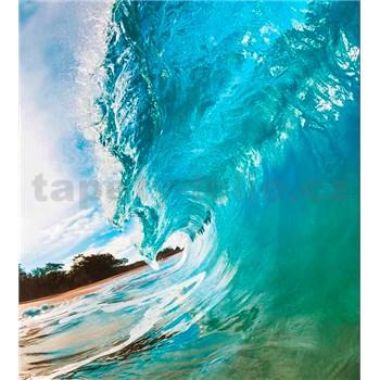 Vliesové fototapety vlny oceánu rozměr 225 cm x 250 cm