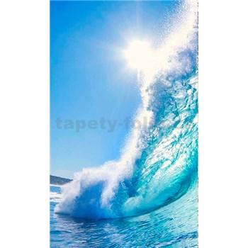Vliesové fototapety mořské vlny rozměr 150 cm x 250 cm