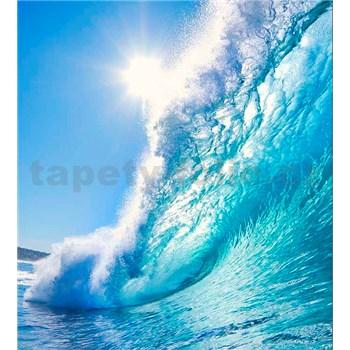 Vliesové fototapety mořské vlny rozměr 225 cm x 250 cm