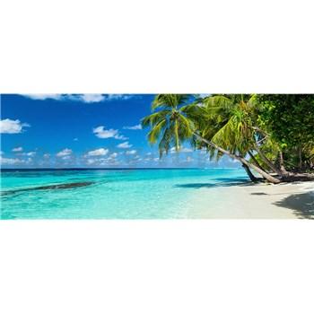 Vliesové fototapety rajská pláž rozměr 375 cm x 150 cm