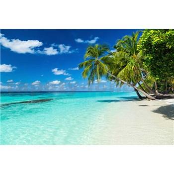 Vliesové fototapety rajská pláž rozměr 375 cm x 250 cm