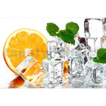 Vliesové fototapety citron a led rozměr 375 cm x 250 cm