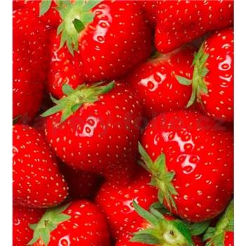 Vliesové fototapety jahody rozměr 225 cm x 250 cm