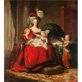 Vliesové fototapety Marie Antoinette - Vigeé Le Brun rozměr 225 cm x 250 cm