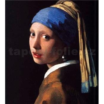 Vliesové fototapety Dívka s perlou - Johannes Vermeer rozměr 225 cm x 250 cm