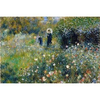 Vliesové fototapety Ženy v zahradě - Pierre Auguste Renoir rozměr 375 cm x 250 cm
