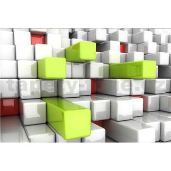 Vliesové fototapety 3D boxy rozměr 375 cm x 250 cm