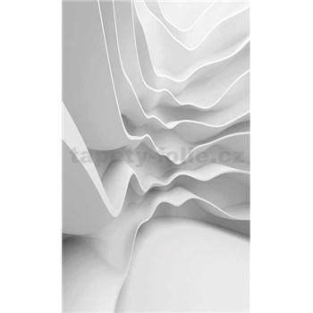 Vliesové fototapety futuristické vlny rozměr 150 cm x 250 cm