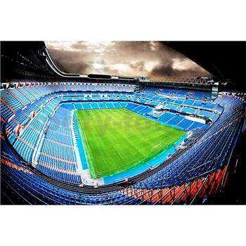 Vliesové fototapety fotbalový stadión rozměr 375 cm x 250 cm