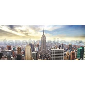 Vliesové fototapety New York Manhattan rozměr 250 cm x 104 cm