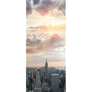 Vliesové fototapety New York Manhattan rozměr 91 cm x 211 cm