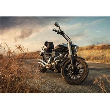 Vliesové fototapety motorka rozměr 368 cm x 254 cm