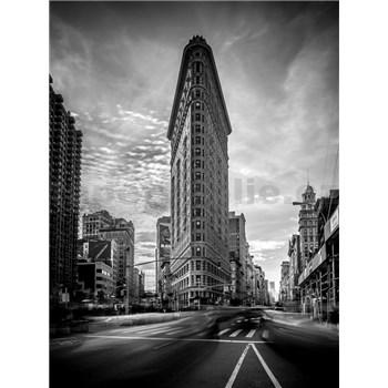 Vliesové fototapety New York Flatiron Bluilding 5th Avenue rozměr 184 cm x 254 cm